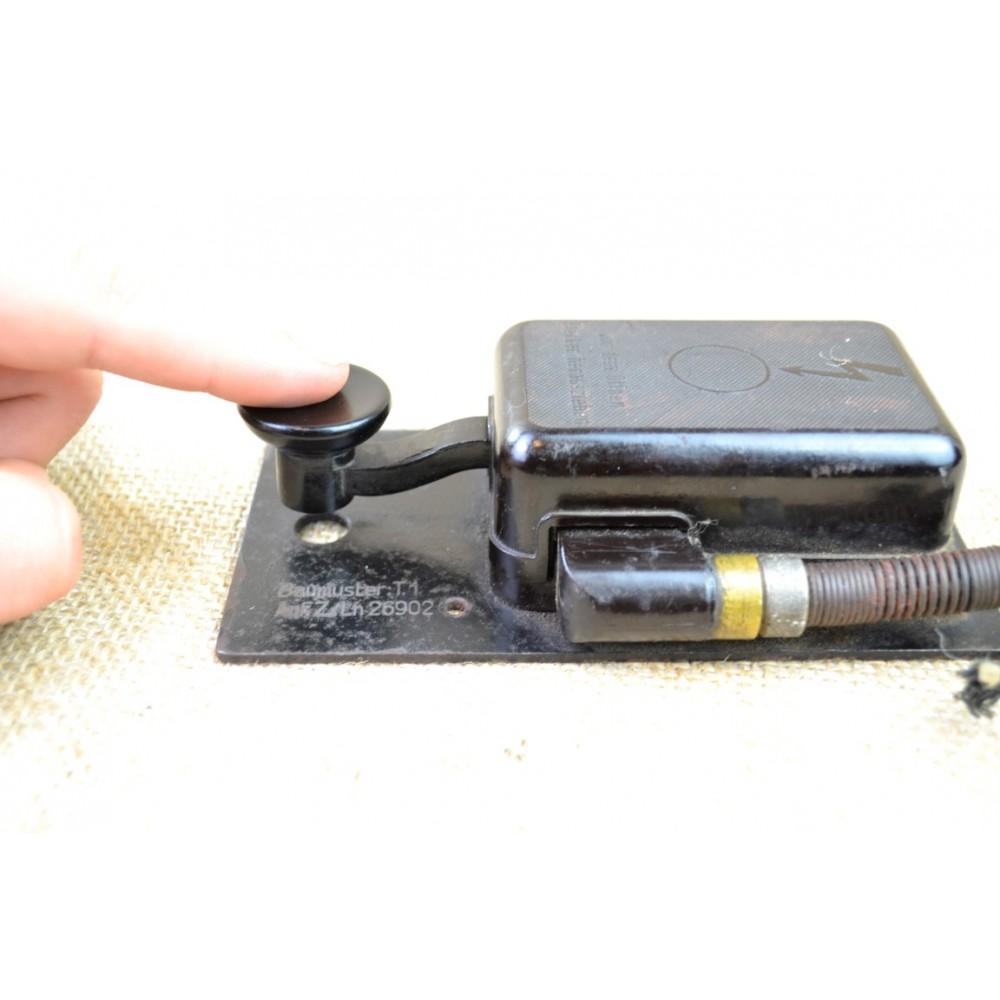 german WWII Morse code telegraph key