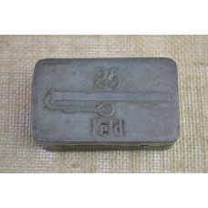 Box for 25. fuses for hand grenades WWI