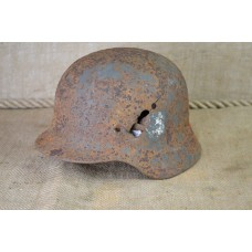 M40 helmet battle damaged size 62