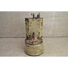 German WWII carbide lamp part