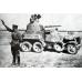 Battle Damaged Russian 45mm sleeve