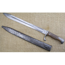 German WWI S98/05NA Butcher Mauser  bayonet. Stahlbluhme. 1916 made.