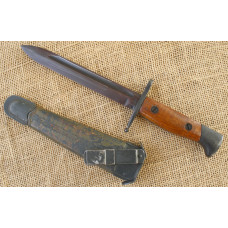 Italian knife for assault troops (Assaltatori). Model 1960. Very early date.