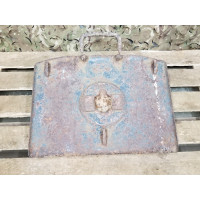 8cm S. Gr. W 34 base plate with original paint markings