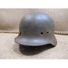 battle damaged german helmet M 40 size 64