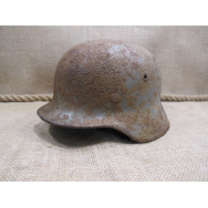 german WWII combat helmet m40 model size 64 signed