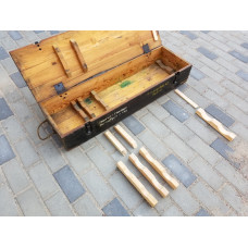 set of wooden inner racks for KWK 42 ammo box