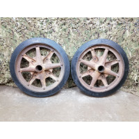 7.5cm AT gun Pak 40 wheels set
