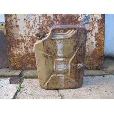 Wehrmacht 20 L jerry can Wasser ( for water ) Brose u.Co. 1944