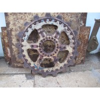 Panther drive sprocket wheel outer side part
