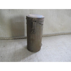 German WWII gasmask canister